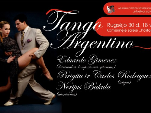 "Music and dance synthesis ""Tango Argentino"""